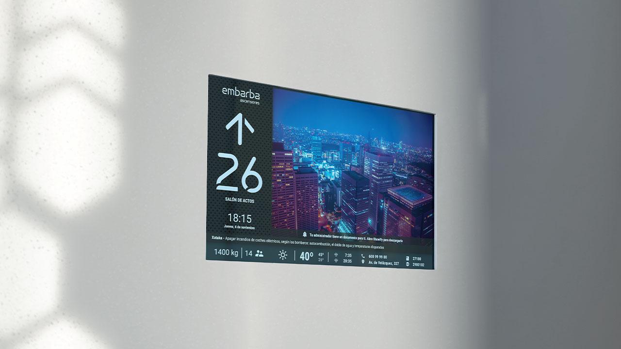 pantalla-ascensor-display-showify-embarba