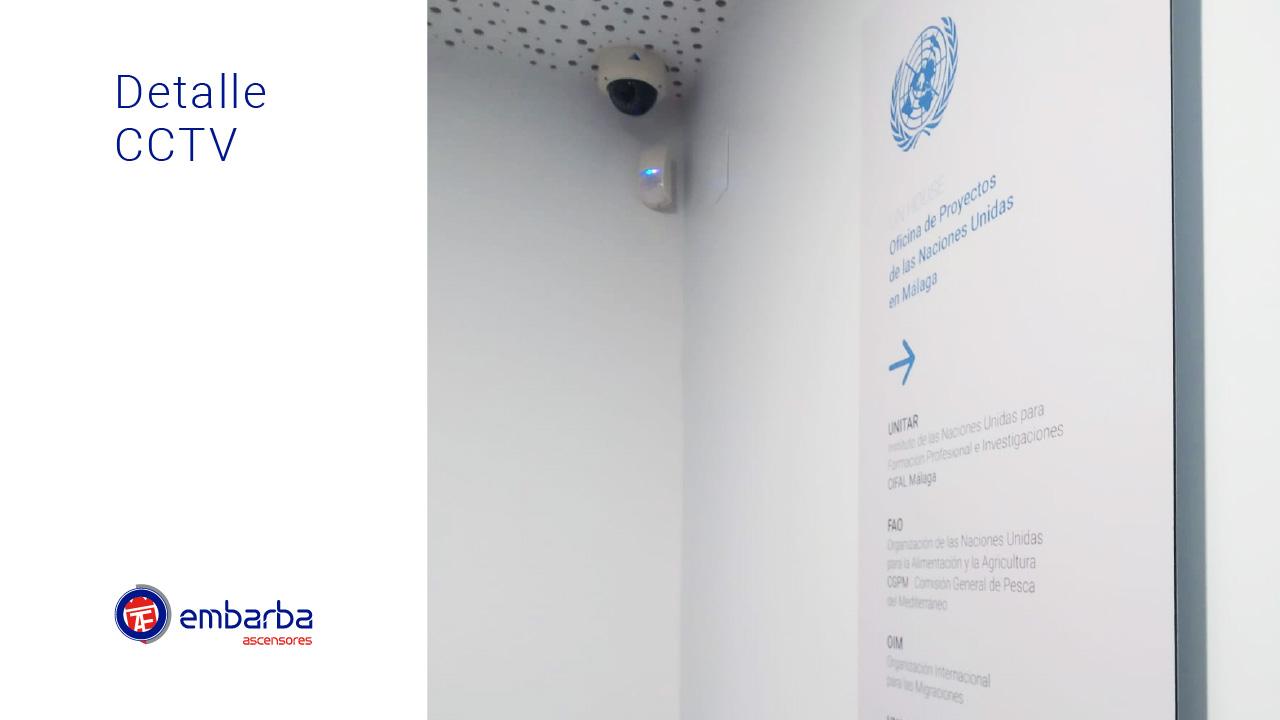 Instalación seguridad ONU Málaga