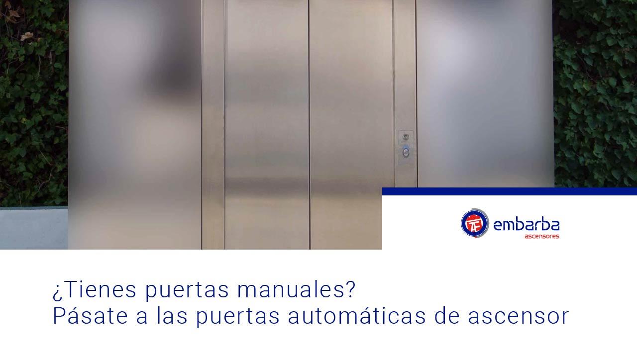 puertas automáticas de ascensor